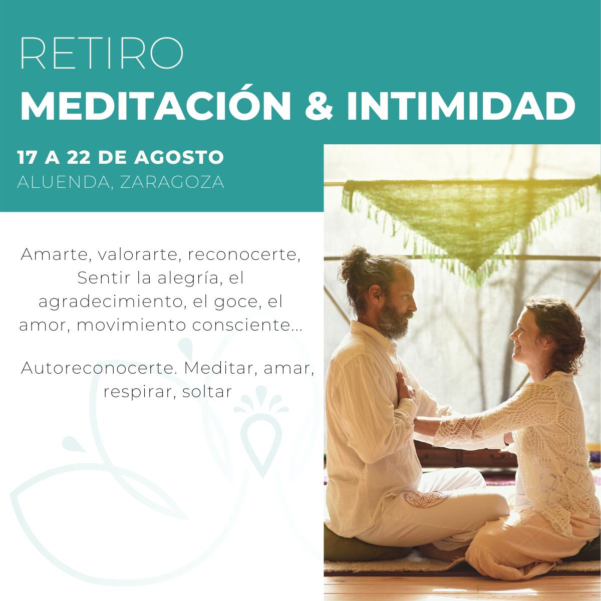 Retiro Meditación e Intimidad - Laura Cárcel